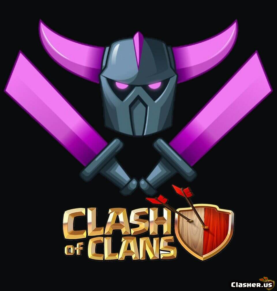 P E K K A Coc Logo Clash Of Clans Wallpapers Clasher Us