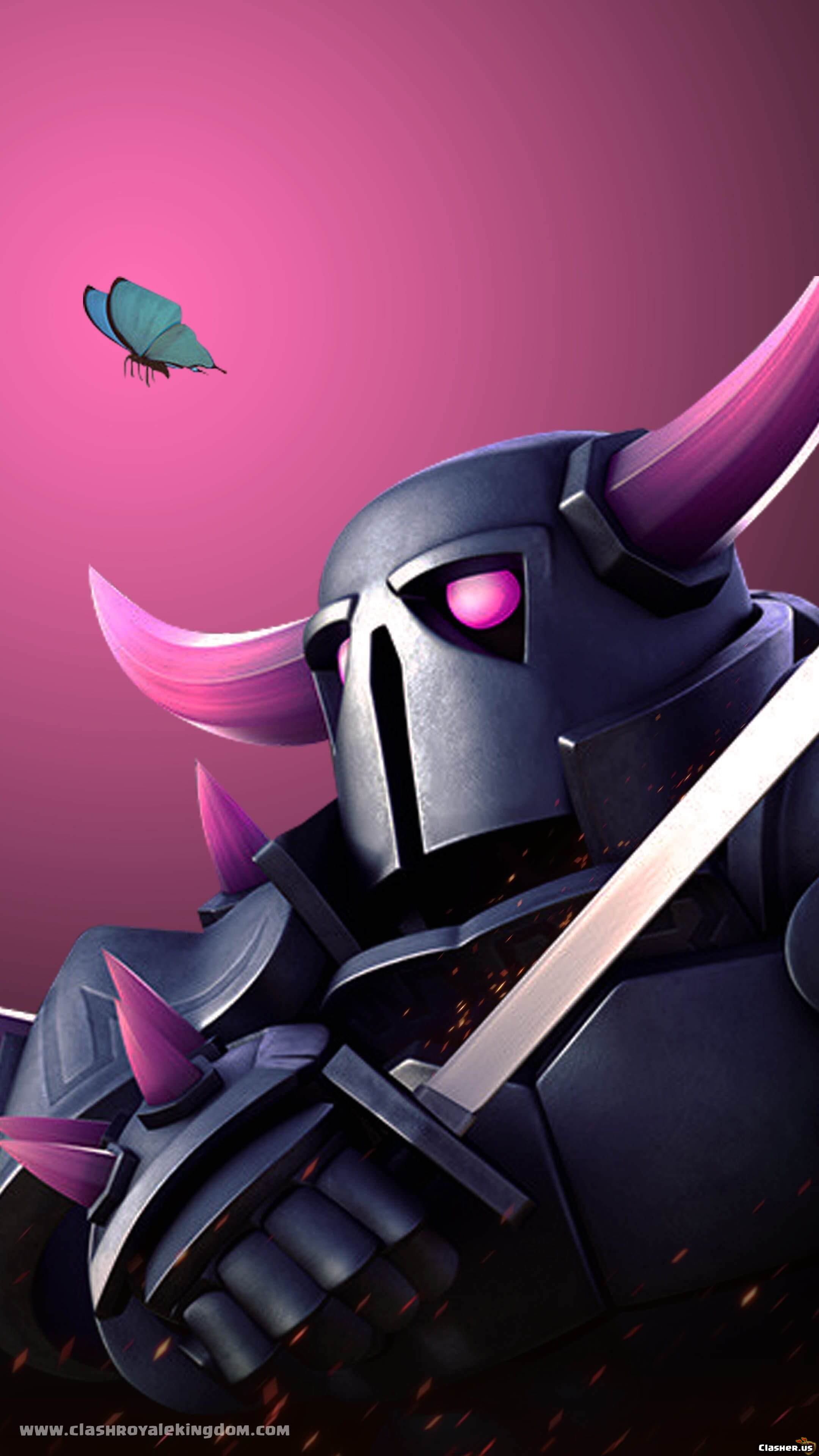 Pekka Butterfly Art Clash Of Clans Wallpapers Clasher Us