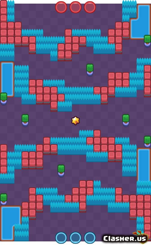 Layer Cake - Bounty map - Brawl Stars   Clasher.us